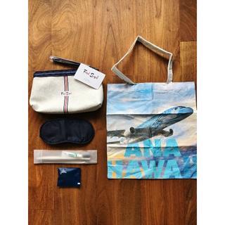 ANA(全日本空輸) - ANA ハワイ便 A380 フライングホヌ ビジネスクラス アメニティ ①