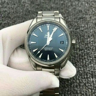 OMEGA - OMEGA シーマスター アクアテラ クロノメーター メンズ 時計