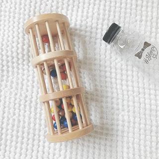 ファミリア(familiar)の美品 famiriar ファミリア 木製 タワー おもちゃ(知育玩具)