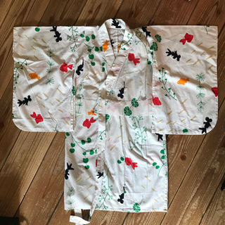 ユニクロ(UNIQLO)のUNIQLO 浴衣 110cm(甚平/浴衣)
