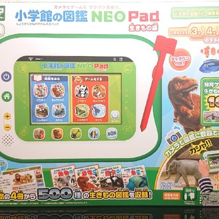 タカラトミー(Takara Tomy)の新品!!小学舘の図鑑NEOPad:生きもの編(知育玩具)