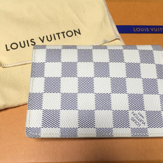 ルイヴィトン(LOUIS VUITTON)のLOUIS VUITTON ダミエ アズール パスポートケース(その他)