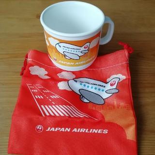 ジャル(ニホンコウクウ)(JAL(日本航空))のJAL ノベルティコップ(ノベルティグッズ)