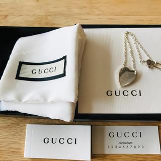 グッチ(Gucci)の正規品 美品 グッチ GUCCI シルバー ハート ブレスレット シルバー925(ブレスレット/バングル)