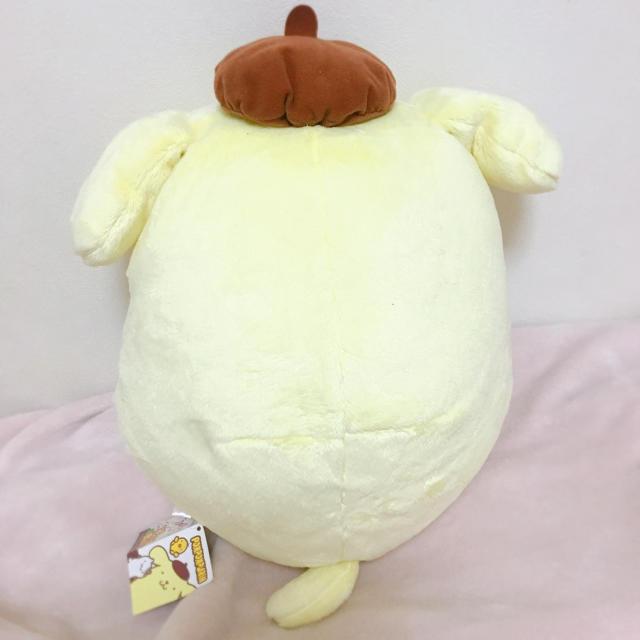 サンリオ(サンリオ)のポムポムプリンぬいぐるみ エンタメ/ホビーのおもちゃ/ぬいぐるみ(ぬいぐるみ)の商品写真