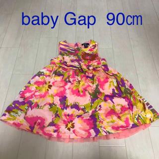 ベビーギャップ(babyGAP)のベビーギャップ90 ワンピース90 ベビーギャップ90㎝(ワンピース)