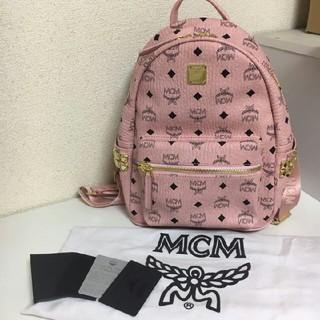 MCM - MCM リュック ピンク