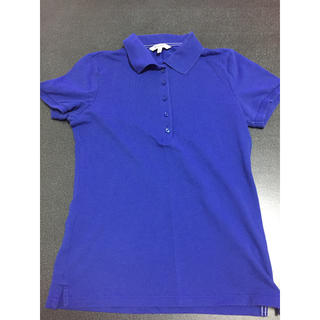 ユニクロ(UNIQLO)のユニクロ ポロシャツ 青 ブルー Sサイズ(ポロシャツ)