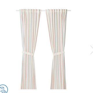 イケア(IKEA)の【新品未使用】IKEA テキスタイル カーテン 1枚(カーテン)