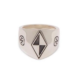 バレンシアガ(Balenciaga)のvetements ヴェトモン シルバー リングL指輪 silver(リング(指輪))