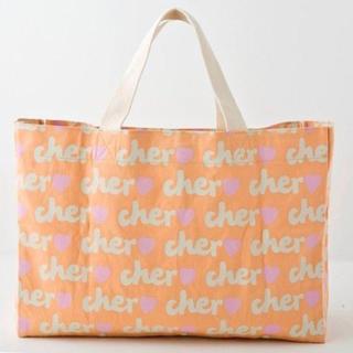 シェル(Cher)のcher トートバッグ  エコバッグ(エコバッグ)
