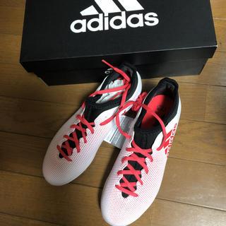アディダス(adidas)のエックス 17.3-ジャパン HG J 22センチ(シューズ)