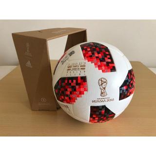 アディダス(adidas)のFIFA W杯 公式球 決勝戦 フランスvsクロアチア 限定マッチデイ刻印モデル(ボール)