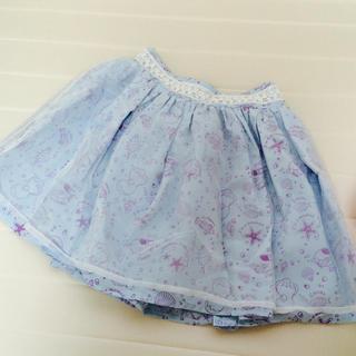 リズリサ(LIZ LISA)のLIZLISA マーメイド柄スカート(ミニスカート)