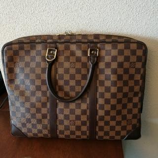 ルイヴィトン(LOUIS VUITTON)のLouis Vuittonブリーフケース ダミエ(ビジネスバッグ)