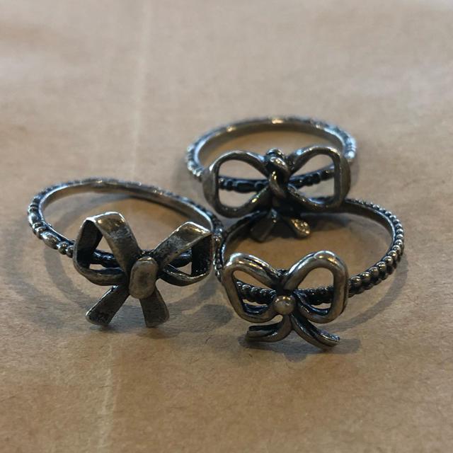 IOSSELLIANI(イオッセリアーニ)のイオッセリアーニ 多連 リング 4本 h.p France レディースのアクセサリー(リング(指輪))の商品写真