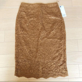 GU - レーススカート GU レースタイトスカート