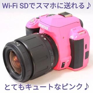 PENTAX - ◆Wi-Fi仕様◆とてもキュートなピンクカラー◆Pentax k-r