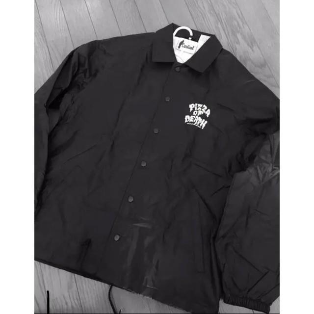 HIGH!STANDARD(ハイスタンダード)のPIZZA OF DEATH コーチジャケット メンズのジャケット/アウター(ナイロンジャケット)の商品写真