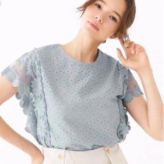 flower - 【土日限定値下げ】Flower loved lace blouse