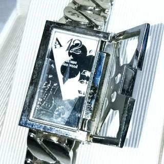 ヴィヴィアンウエストウッド(Vivienne Westwood)のVivienne Westwood MAN/スカルゲージ トランプウォッチ(腕時計(アナログ))