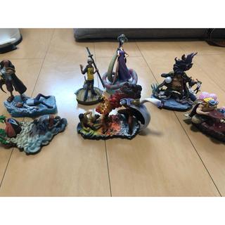 バンダイ(BANDAI)のワンピース フィギュア 頂上決戦フルコンプ+おまけ(フィギュア)