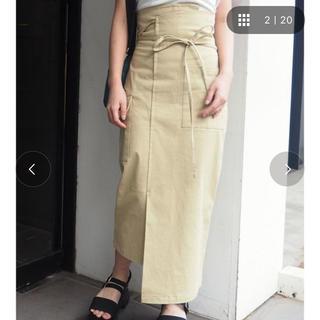 MURUA - MURUAのラップマキシスカート