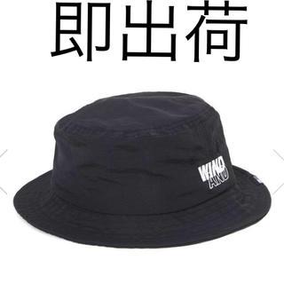 シュプリーム(Supreme)の店購入wind and sea BUCKET HAT Black 黒 ハット帽(ハット)