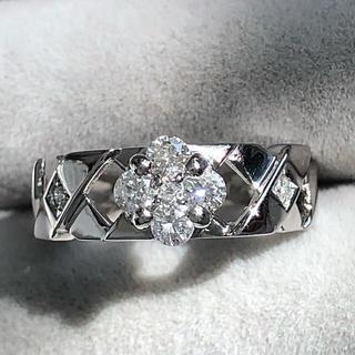 新品❤️プラチナ ダイヤモンド リング0.30ct♪(リング(指輪))