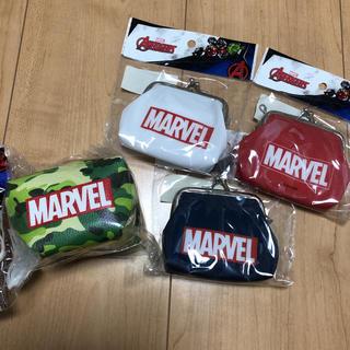 マーベル(MARVEL)の☆新品未開封 ☆   MARVEL  がま口 財布 ・コインケース  4個セット(キャラクターグッズ)