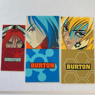 バートン(BURTON)のバートン/ステッカー/3枚セット(ウエア/装備)