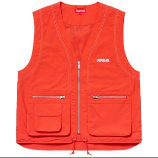 シュプリーム(Supreme)のSupreme Nylon Cargo Vest オレンジ L(ベスト)