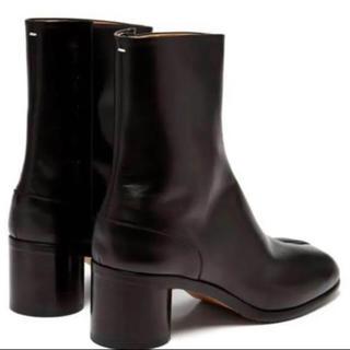 マルタンマルジェラ(Maison Martin Margiela)のMaison Margiela tabi leather boots 43(ブーツ)
