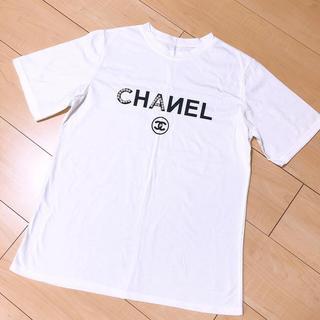 シャネル(CHANEL)のシャネル ノベルティ Tシャツ(Tシャツ(半袖/袖なし))