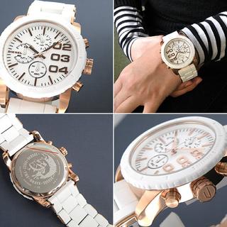ディーゼル(DIESEL)の◆限定価格◆DIESEL☆クロノグラフ☆DZ5323(腕時計)