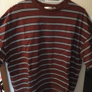 シマムラ(しまむら)のボーダーT(Tシャツ(半袖/袖なし))