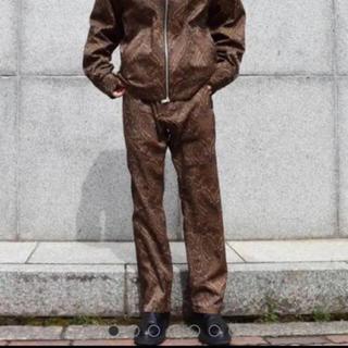 サンシー(SUNSEA)のURU 19SS ペイズリー柄パンツ サイズ1(スラックス)