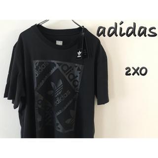 adidas - adidas アディダス Tシャツ 2XO  黒 新品  オリジナルス