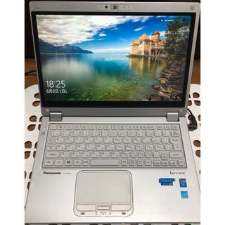 パナソニック(Panasonic)の超美品 Panasonic LET'S note CF-MX3 Core i5(ノートPC)