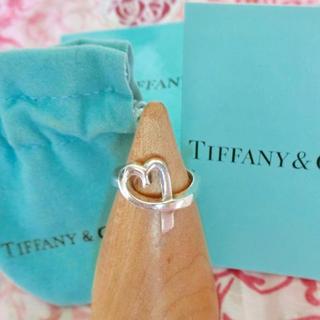 ティファニー(Tiffany & Co.)のティファニー ラビングハート リング 6号(リング(指輪))