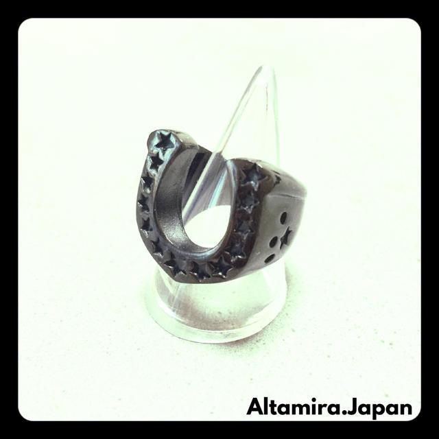 ブラック ホースシューリング  / テンダーロイン EXILE 好きにオススメ メンズのアクセサリー(リング(指輪))の商品写真