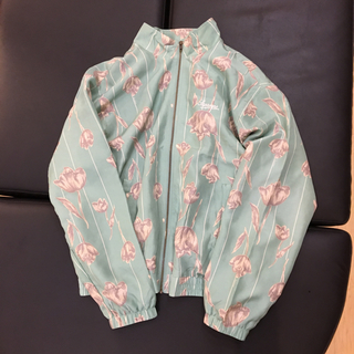 Supreme - 国内正規品 Supreme Floral Silk Track JKT ミントL