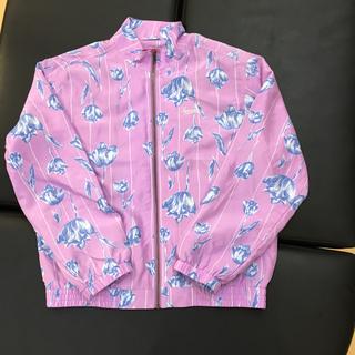 Supreme - 国内正規品 Supreme Floral Silk Track JKT 紫 L