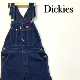 ディッキーズ(Dickies)の美品 Dickies デニムオーバーオール (サロペット/オーバーオール)