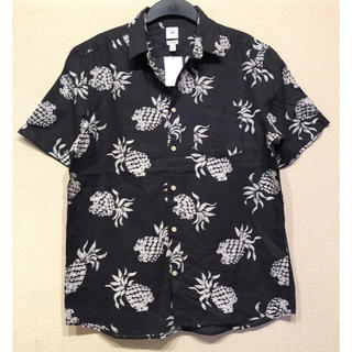 H&M - 【H&M】新作&新品 pineapple アロハシャツ