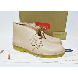 クラークス(Clarks)の定価4.3万 新品 イタリア製 Clarks DESERT BOOT 7.5 (ブーツ)