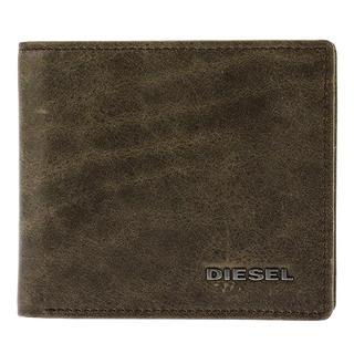 ディーゼル(DIESEL)のディーゼル DIESEL メンズ 二つ折り 短財布 ブラウン(折り財布)