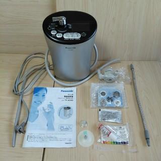 パナソニック(Panasonic)のアルカリイオン整水器 TK-AS43 クリスタルシルバー (浄水機)