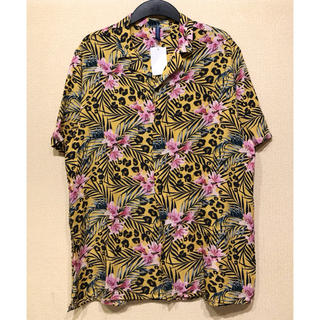エイチアンドエム(H&M)の【H&M】新作&新品 レオパード&Flower アロハシャツ(シャツ)