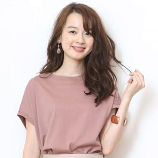 ジャスグリッティー(JUSGLITTY)の🍀新品🍀🌷JUSGLITTY🌷ゆるTシャツ  モカピンク(Tシャツ(半袖/袖なし))